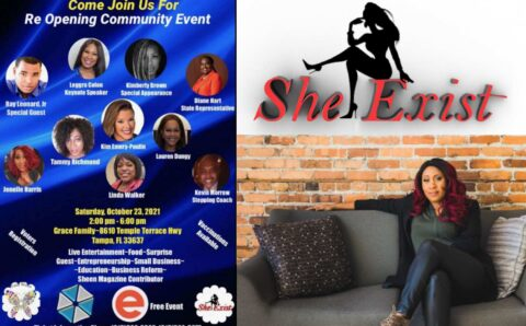 Exclusive: Red Carpet Event Hosted By CEO Janelle Harris of SHE EXIST & CEO Linda Walker of FAITHWORKS EMPOWERMENT !