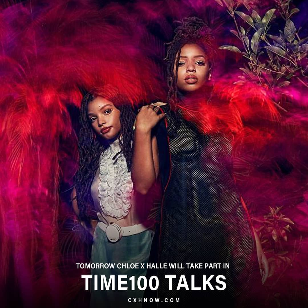 YOU'VE NEVER SEEN CHLOE X HALLE LIKE THIS!