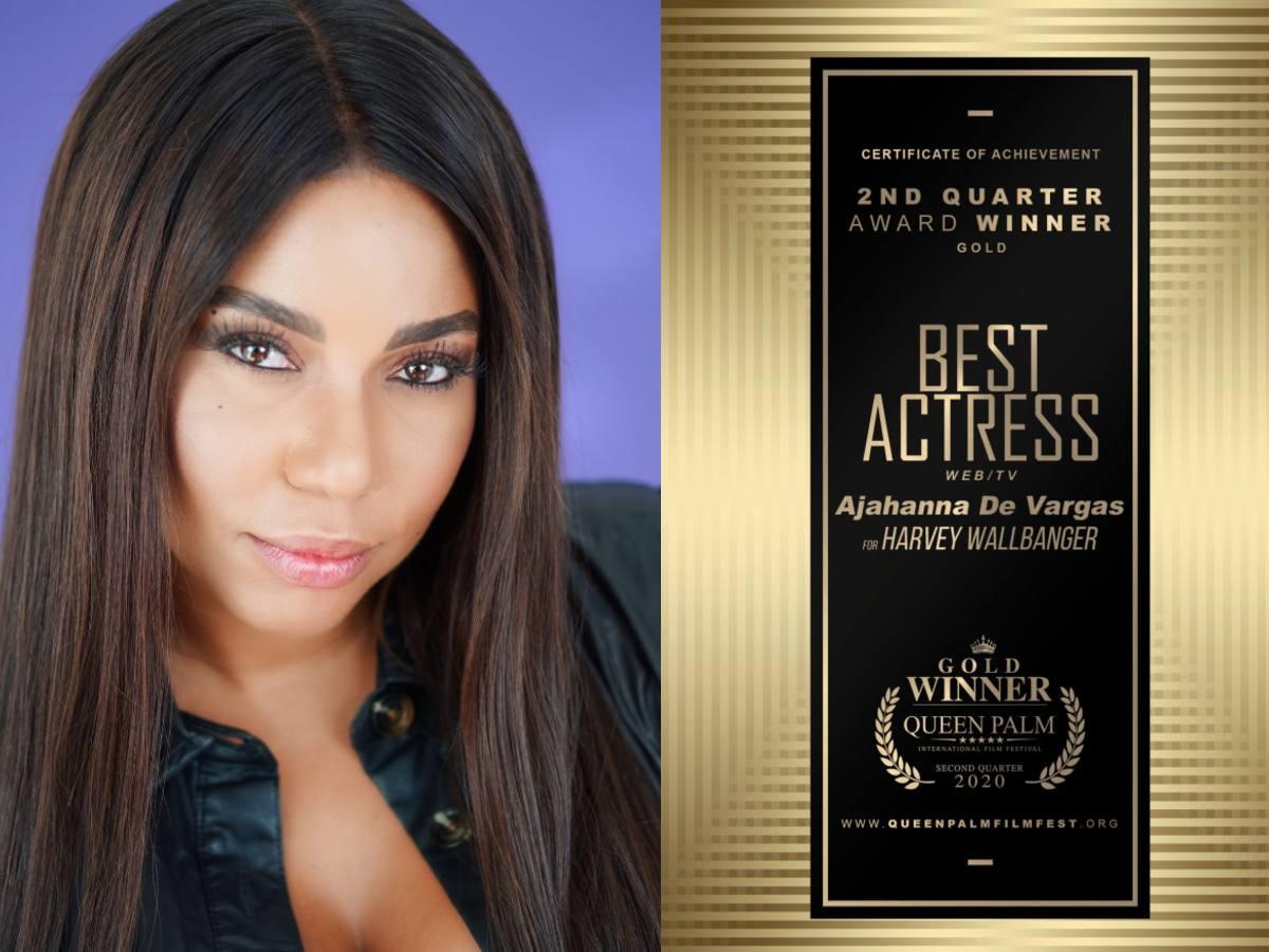 AJAHANNA DE VARGAS CONFIRMS HER RECENT WIN AS BEST ACTRESS!