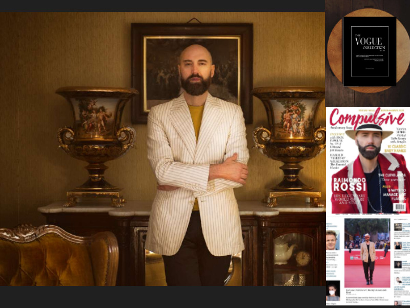CELEBS & STYLE: ROLLING STONE RECOGNIZED NOTABLE STYLE ICON RAIMONDO ROSSI CONFIRMS HIS NATION WIDE FEATURE!