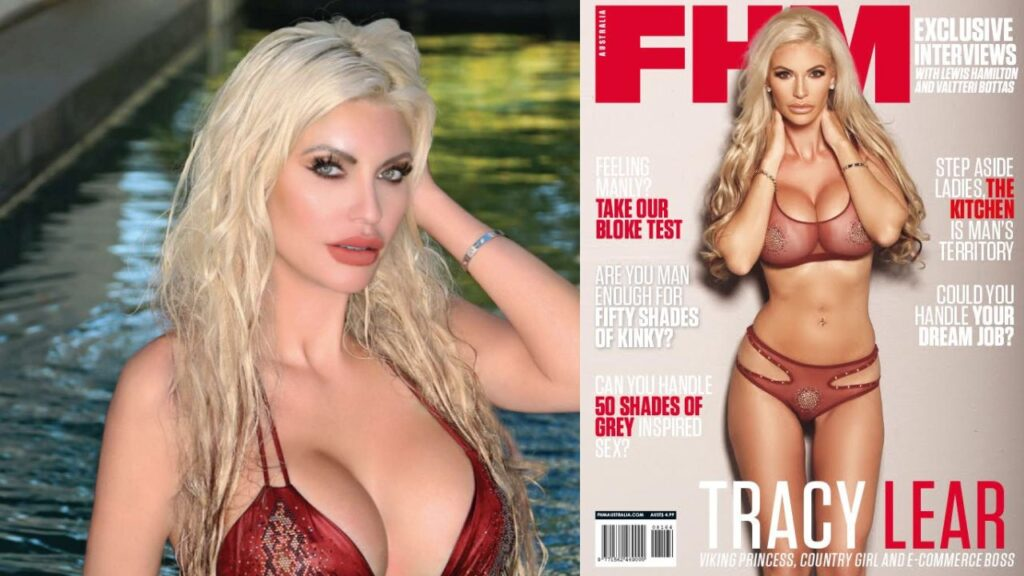 HOTTEST CELEBS & ENTERTAINMENT : ACTRESS, PRODUCER & MODEL TRACY LEAR !