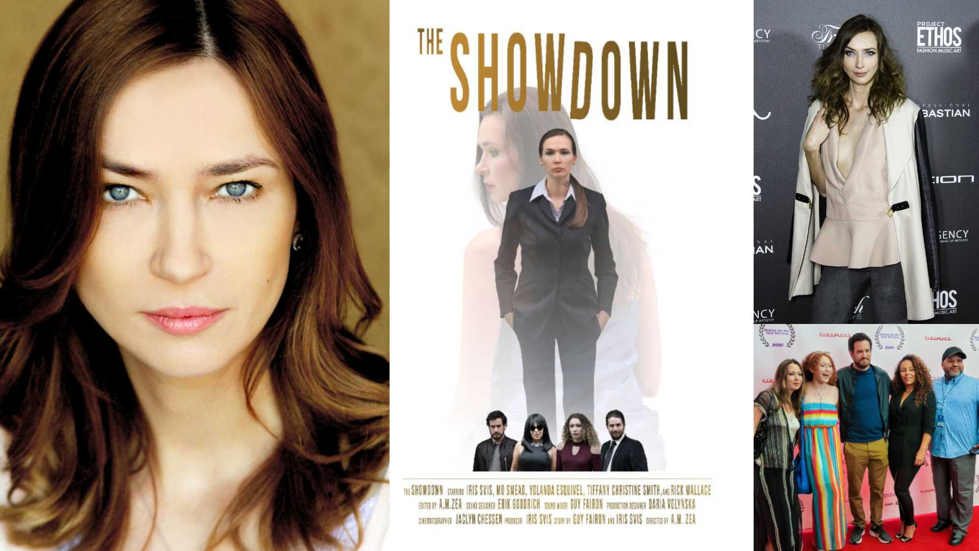 ACTRESS IRIS SVIS CONFIRMS 'THE SHOWDOWN' SCREENING AT THE LEGENDARY CHINESE THEATER & BEST ACTRESS NOMINATION!
