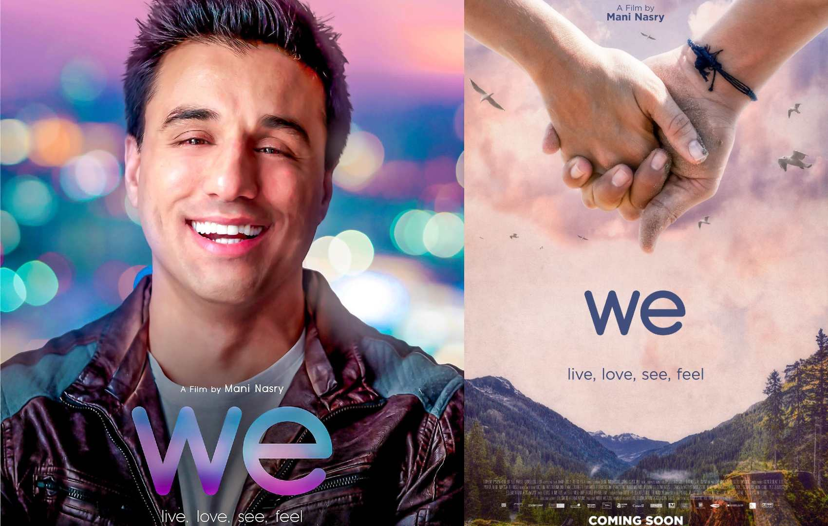 Producer, Director & Lead Actor Mani Nasry, release film We (2021), available on Itunes, Amazon Prime, Google Play and Vudu.